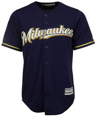 Majestic Men Milwaukee Brewers Replica Cool Base Jersey