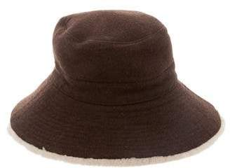Hermes Shearling-Lined Wool Hat