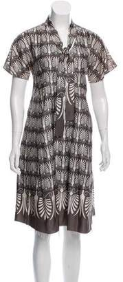 Marni Patterned Smock Dress