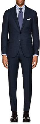 Canali Men's Natural Comfort Neat Wool Two-Button Suit - Navy