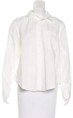 Amo Button-Up Long Sleeve Top