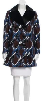 Louis Vuitton Jacquard Short Coat