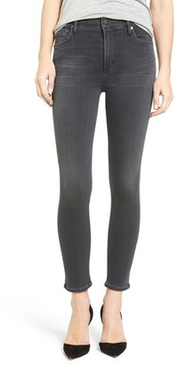 Women's Citizens Of Humanity Rocket High Waist Crop Skinny Jeans $248 thestylecure.com