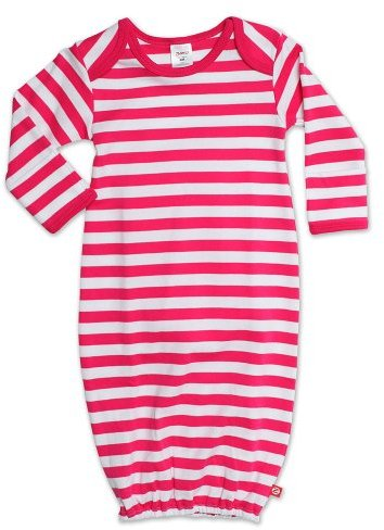 Zutano Baby-girls Infant Primary Stripe Gown