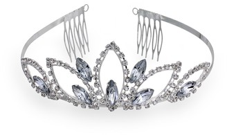 Crystal Allure Lotus Petal Tiara Headband