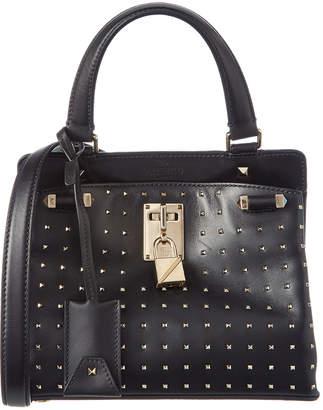 Valentino Joylock Small Embellished Leather Satchel