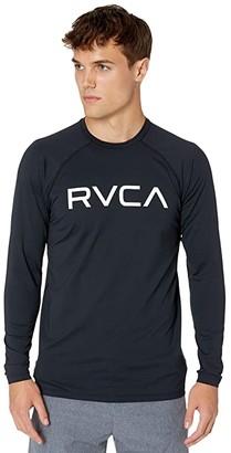 RVCA Micro Mesh Long Sleeve Surf Tee