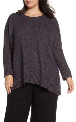 Eileen Fisher Oversize Crewneck Pullover
