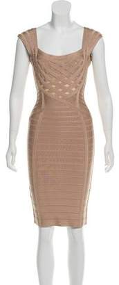 Herve Leger Evea Bandage Dress