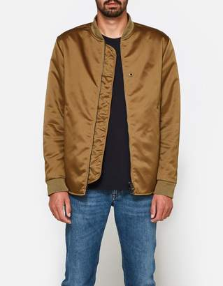 Acne Studios Mylon Matt Jacket in Acorn Green