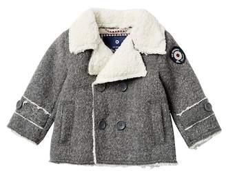 Ben Sherman Faux Shearling Coat (Baby Boys)
