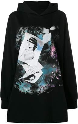 MM6 MAISON MARGIELA printed hooded sweatshirt