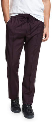 Vince Wool Track Pants with Piping