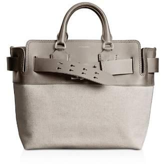 Burberry Medium Canvas & Leather Belt Bag
