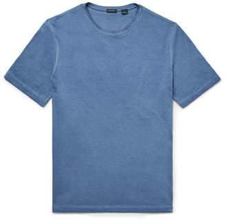 Incotex Garment-Dyed Cotton-Jersey T-Shirt