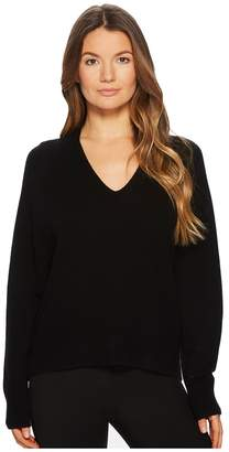 Vince Deep V-Neck Raglan Women's Sweater