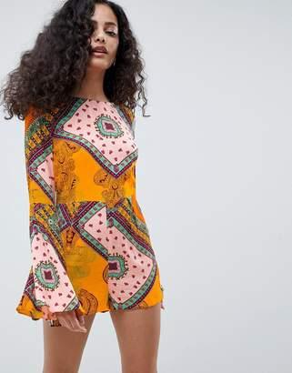 648403af860 Long Sleeve Playsuits For Women - ShopStyle UK