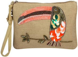 Saint Tropez Marinette Toucan Clutch Bag