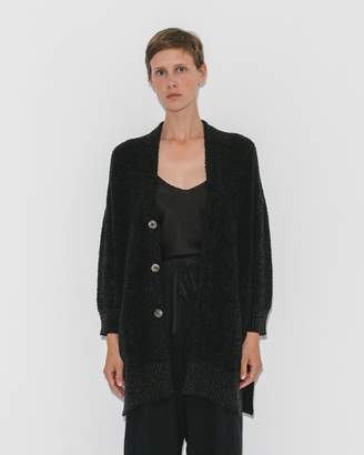 Pas De Calais Black Knit Cardigan