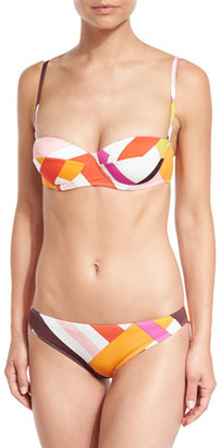 Emilio Pucci Parioli-Printed Two-Piece Bikini Set $465 thestylecure.com