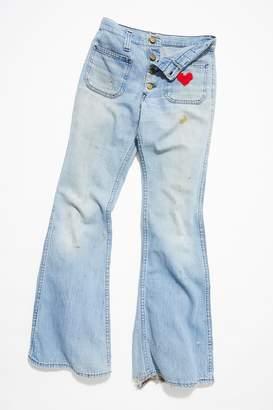 Vintage Loves Vintage 1970s Bell Bottom Jeans