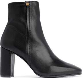 Stuart Weitzman Studded Leather Ankle Boots