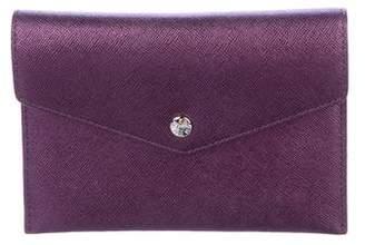 MZ Wallace Metallic Envelope Wallet