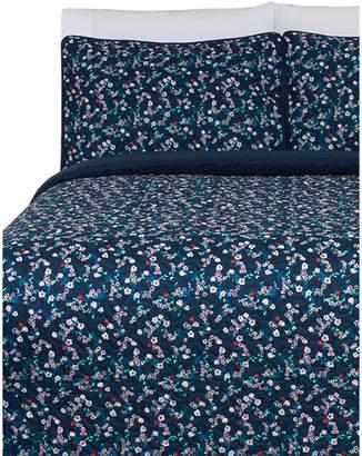 Beco Home Design Ditsy Floral Quilt 3-Piece Set