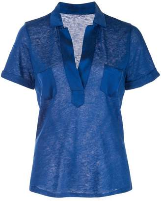 Majestic Filatures fitted shirt