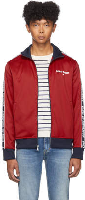 Polo Ralph Lauren Red Logo Track Jacket