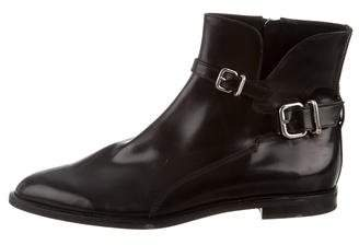 Tod's Leather Pointed-Toe Boots