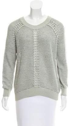 Theyskens' Theory Crew Neck Long Sleeve Sweater