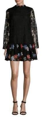 Kas Cynthia Floral Mini Dress