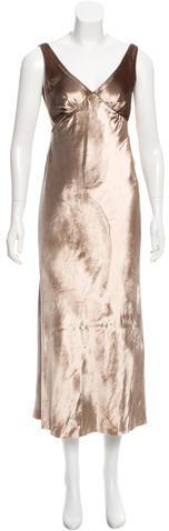 Marc JacobsMarc Jacobs Velvet Open Back Dress w/ Tags
