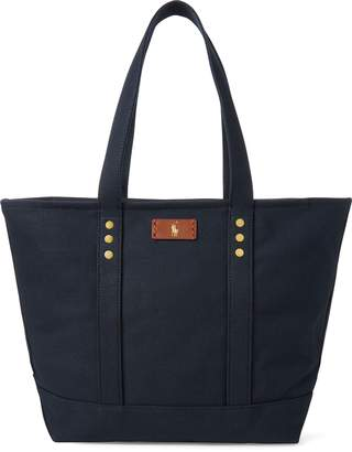Ralph Lauren Canvas Tote Bag