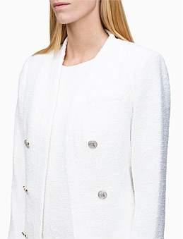 Calvin Klein Open Jacket W/Btns & Pckt