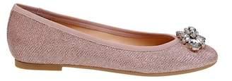 Badgley Mischka Cabella Embellished Ballet Flat