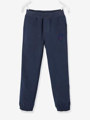 Vertbaudet Cargo Trousers with Fleece Lining for Boys