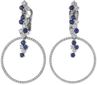 Miseno Vesuvio 18k Gold/Sapphire Earrings Earring