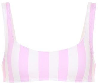 Solid & Striped Elle striped bikini top