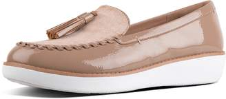 FitFlop Petrina Patent Moccasin Loafers