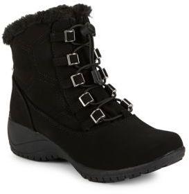 Khombu Alexa Faux Fur Lined Boots $75 thestylecure.com