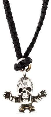 Chrome Hearts Skull Pendant Necklace