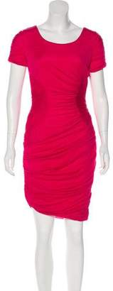 Halston Short Sleeve Midi Dress w/ Tags