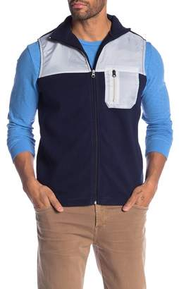 Vintage 1946 Colorblock Fleece Vest