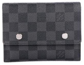Louis Vuitton Damier Graphite Adjustable Organizer Wallet