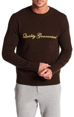 Rag & Bone Victor Quality Guarenteed Crew Neck Sweater