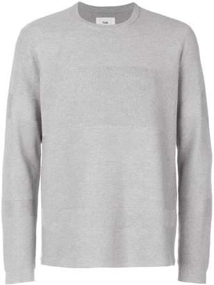 Folk fragment sweater