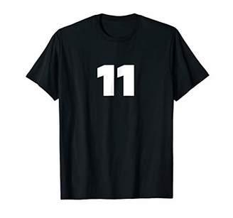 Eleven Paris 11 Favorite Number Art Print Gift T-Shirt