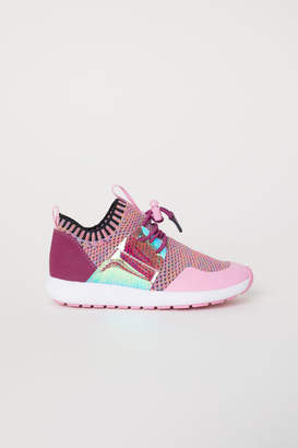 H&M Fully-fashioned Sneakers - Pink